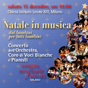 poster concerto Natale in musica