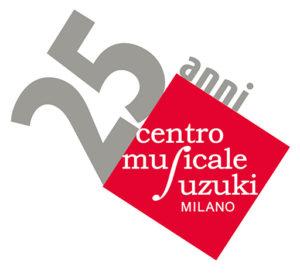 logo speciale 25anni Centro Musicale Suzuki Milano