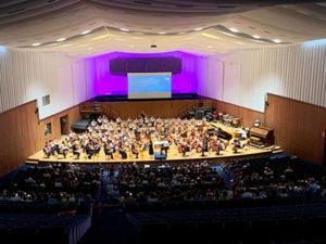 concerto 100archi insieme a Milano sal Verdi del Conservatorio G.Verdi